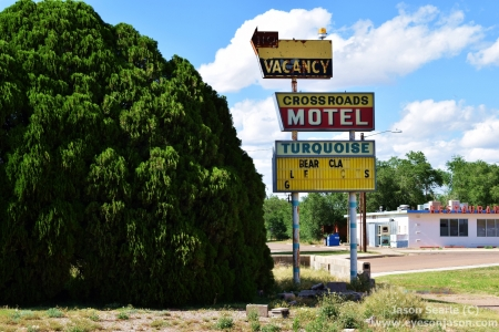 Abandoned motel in Texico