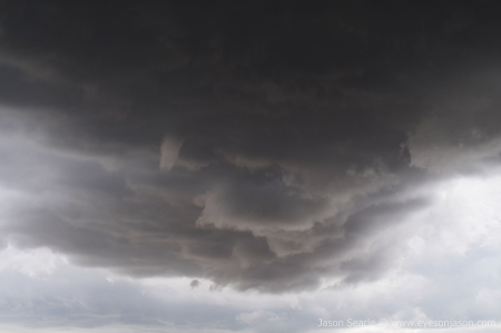 Funnel on the Caldwell Storm