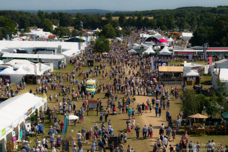 The Countryfile Live Showground, as taken from the Camera Tower