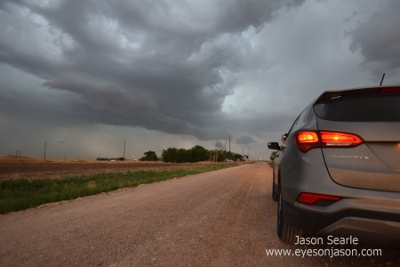 The Hyundai Santa Fe before the storms