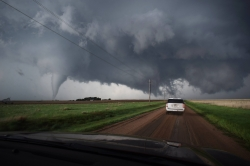 Storm Videos - Dodge City Road Photograph