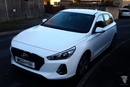 My shiny new Hyundai i30