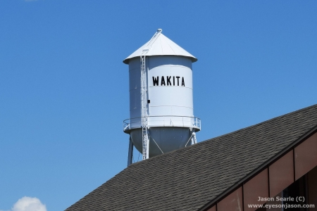The Wakita Water Tower